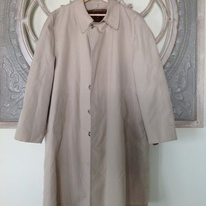 London Fog men's dress over coat